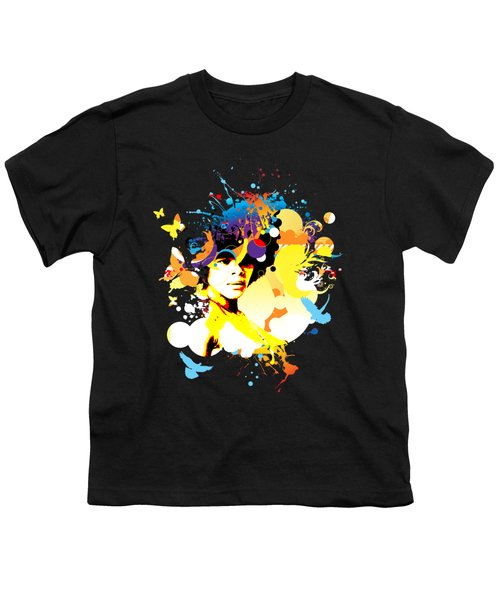 Onxy Doves - Bespattered Youth T-Shirt by Chris Andruskiewicz