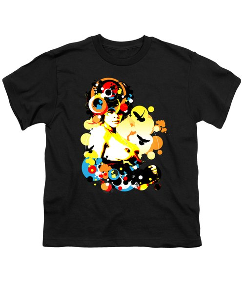 Onyx Doves Youth T-Shirt by Chris Andruskiewicz