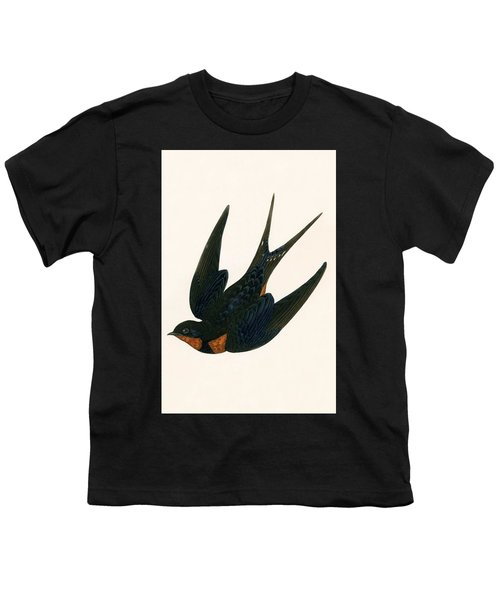 Oriental Chimney Swallow Youth T-Shirt by English School