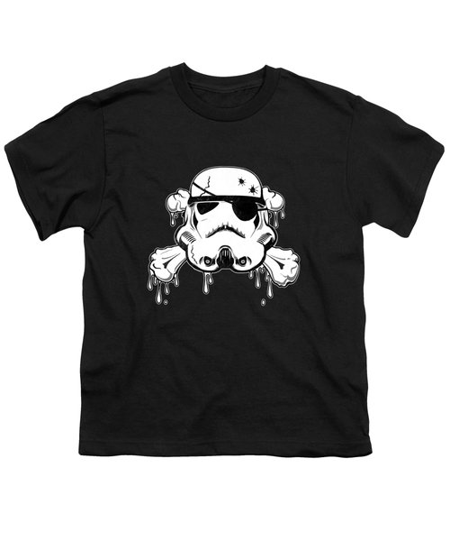 Pirate Trooper Youth T-Shirt by Nicklas Gustafsson