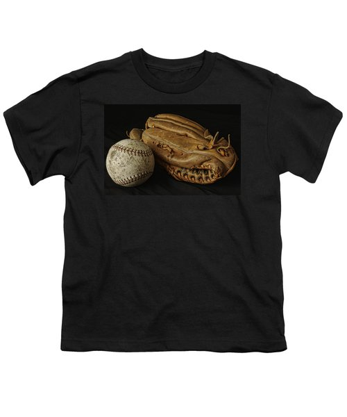 Play Ball Youth T-Shirt by Richard Rizzo