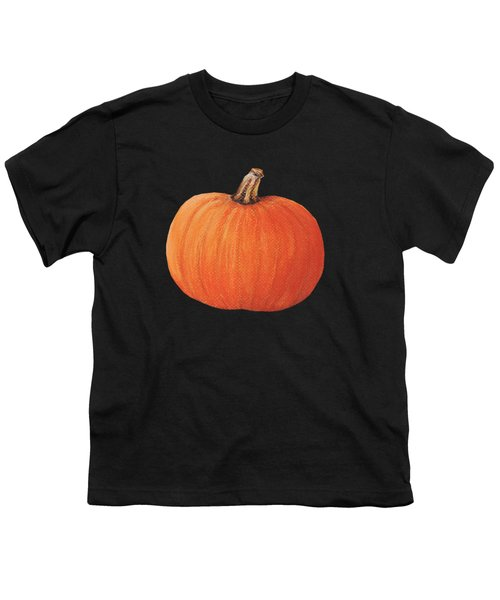 Pumpkin Youth T-Shirt by Anastasiya Malakhova