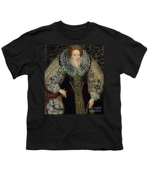 Queen Elizabeth I Youth T-Shirt by John the Younger Bettes