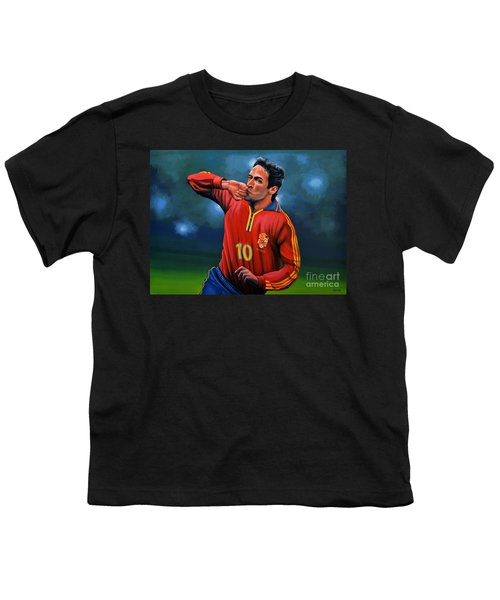 Raul Gonzalez Blanco Youth T-Shirt by Paul Meijering