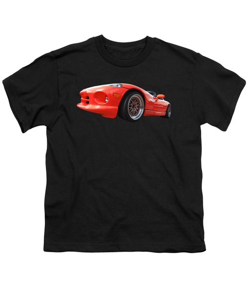 Red Viper Rt10 Youth T-Shirt by Gill Billington