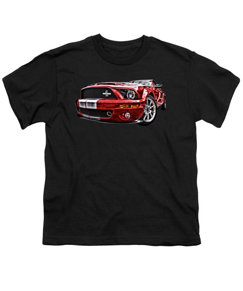 Shelby On Fire Youth T-Shirt by Gill Billington
