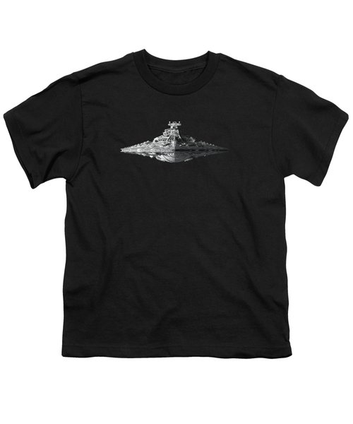 Star Destroyer Youth T-Shirt by Ian King