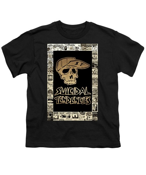 Suicidal Tendencies 2 Youth T-Shirt by Michael Bergman