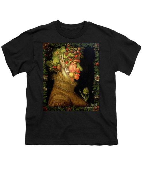 Summer Youth T-Shirt by Giuseppe Arcimboldo