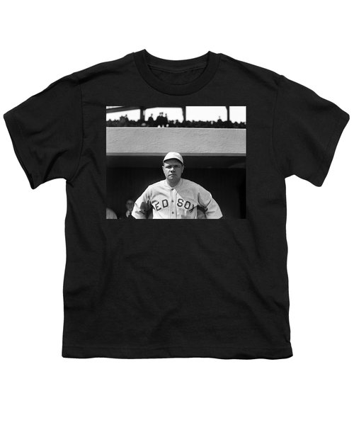 The Babe - Red Sox Youth T-Shirt by International  Images