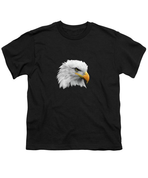The Bald Eagle Youth T-Shirt by Mark Rogan