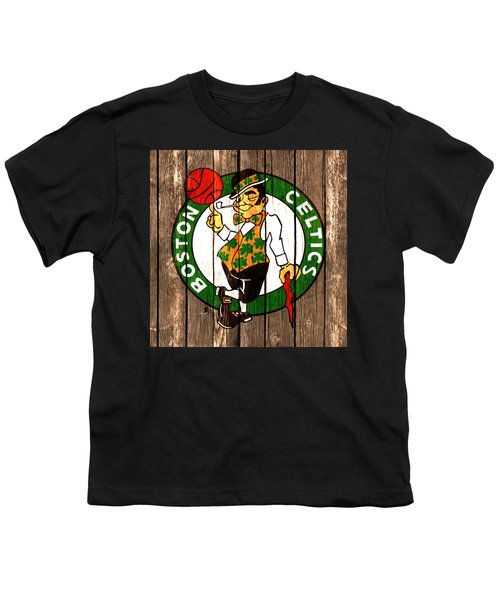 The Boston Celtics 2a Youth T-Shirt by Brian Reaves
