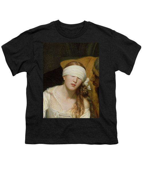 The Execution Of Lady Jane Grey Youth T-Shirt by Hippolyte Delaroche