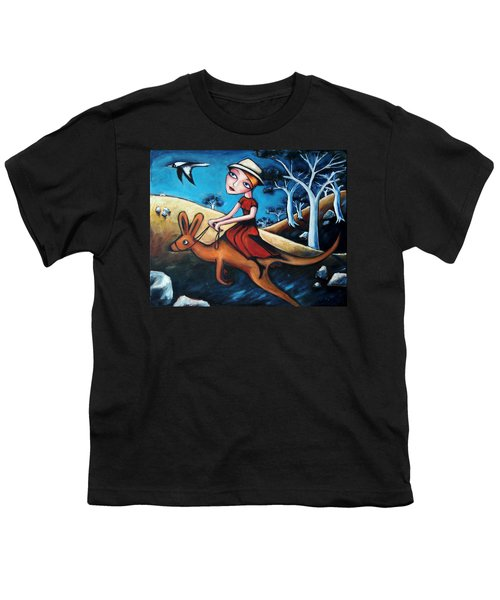 The Journey Woman Youth T-Shirt by Leanne Wilkes