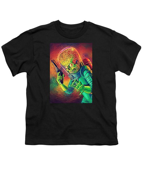 The Martian - Mars Attacks Youth T-Shirt by Taylan Soyturk
