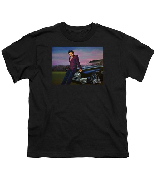 Tom Waits Youth T-Shirt by Paul Meijering