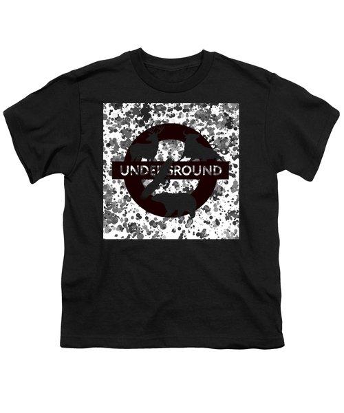 Underground 1 Youth T-Shirt by Alberto RuiZ