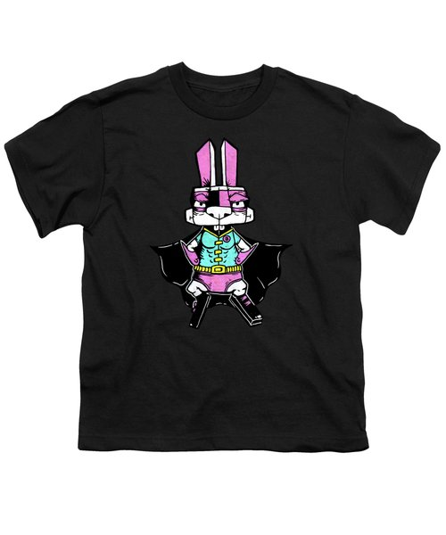 Wonder Bunny Youth T-Shirt by Bizarre Bunny