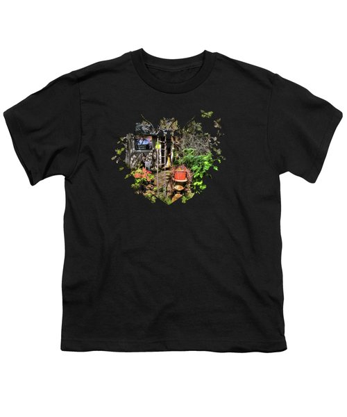 Yesterdays Memories Youth T-Shirt by Thom Zehrfeld