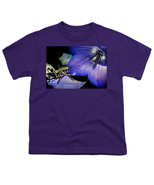Contemplation Of A Pistil Youth T-Shirt by Karen Wiles