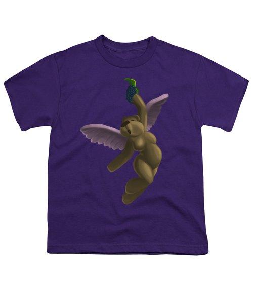 Cupid Bear 4 Youth T-Shirt by Jason Sharpe