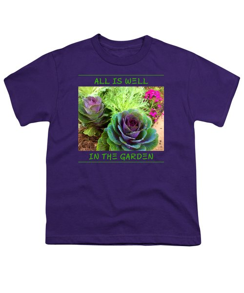 The Healing Garden Youth T-Shirt by Korrine Holt