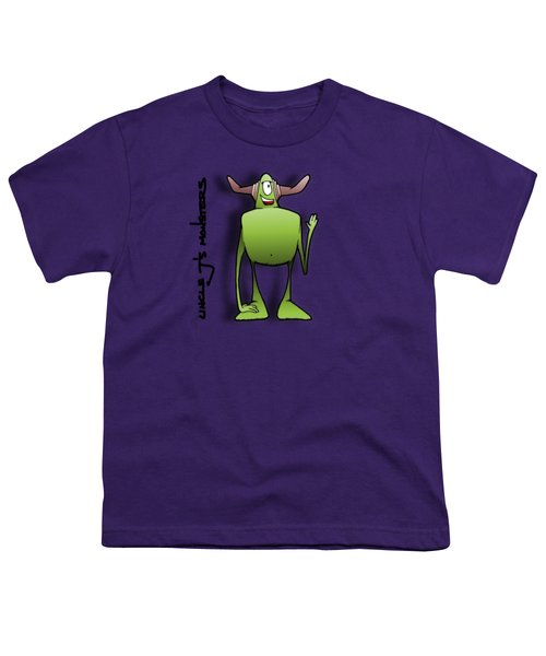 Tollak Youth T-Shirt by Uncle J's Monsters