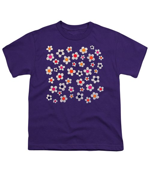 Woodflock Remix Youth T-Shirt by Oliver Johnston