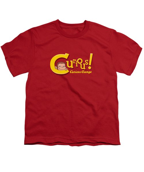 Curious George - Curious Youth T-Shirt by Brand A