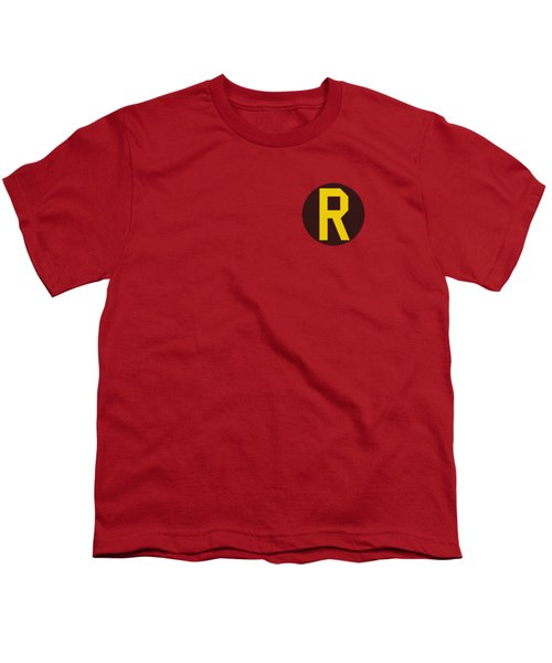 Dc - Robin Logo Youth T-Shirt by Brand A