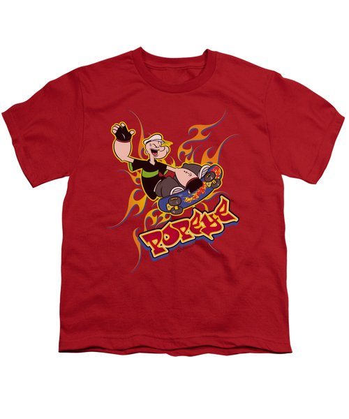 Popeye - Get Air Youth T-Shirt by Brand A