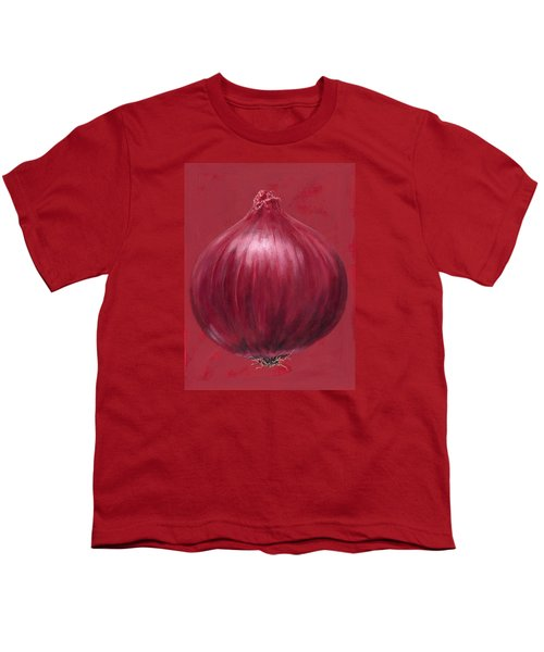 Red Onion Youth T-Shirt by Brian James
