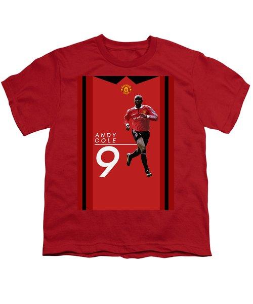 Andy Cole Youth T-Shirt by Semih Yurdabak