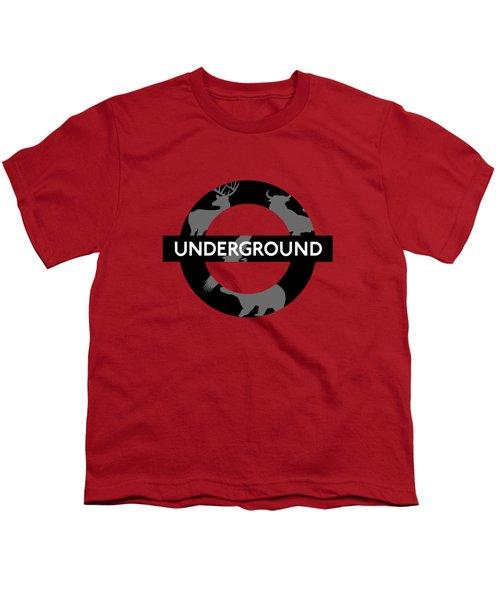 Underground Youth T-Shirt by Alberto RuiZ