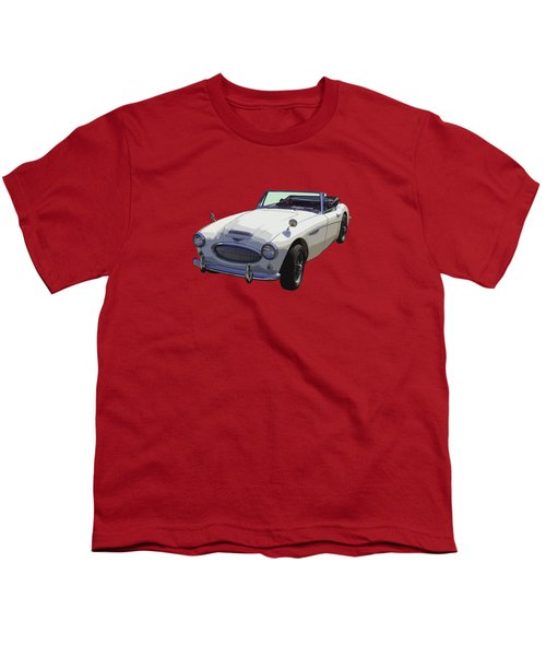 Austin Healey 300 Classic Convertible Sportscar  Youth T-Shirt by Keith Webber Jr