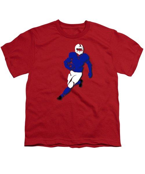 Bills Player Shirt Youth T-Shirt by Joe Hamilton