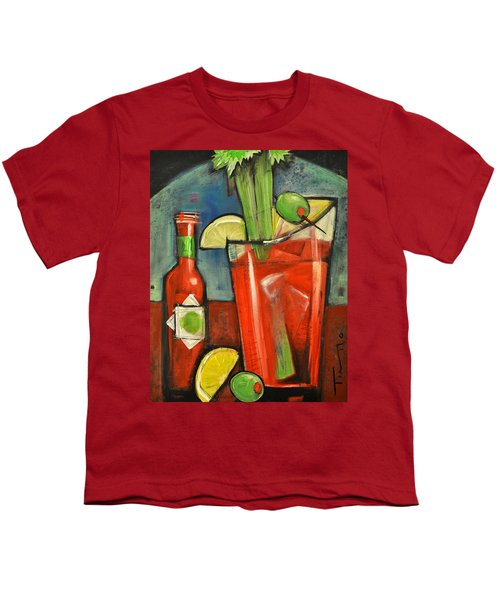 Bloody Mary Youth T-Shirt by Tim Nyberg