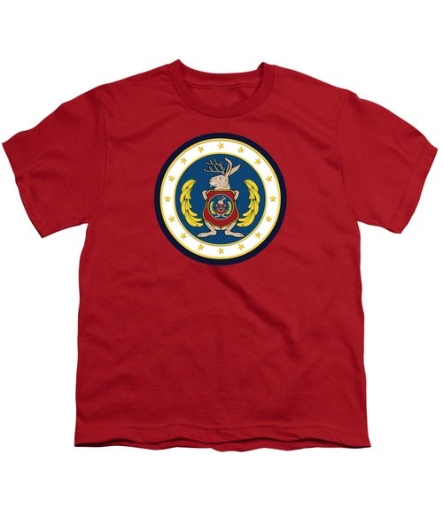 Official Odd Squad Seal Youth T-Shirt by Odd Squad
