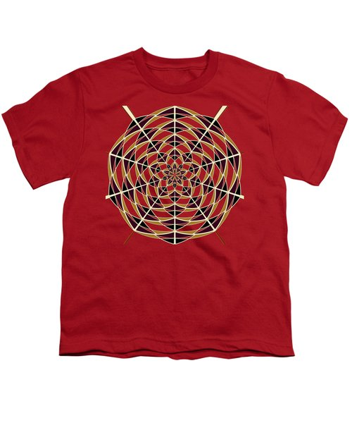 Spider Web Youth T-Shirt by Gaspar Avila