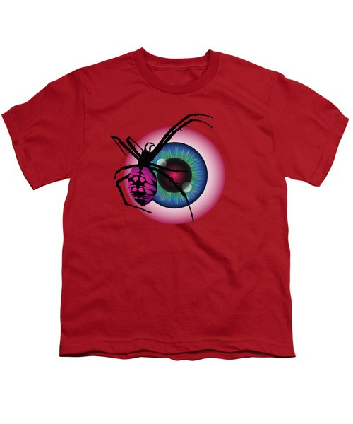 The Eye Of Fear Youth T-Shirt by MM Anderson