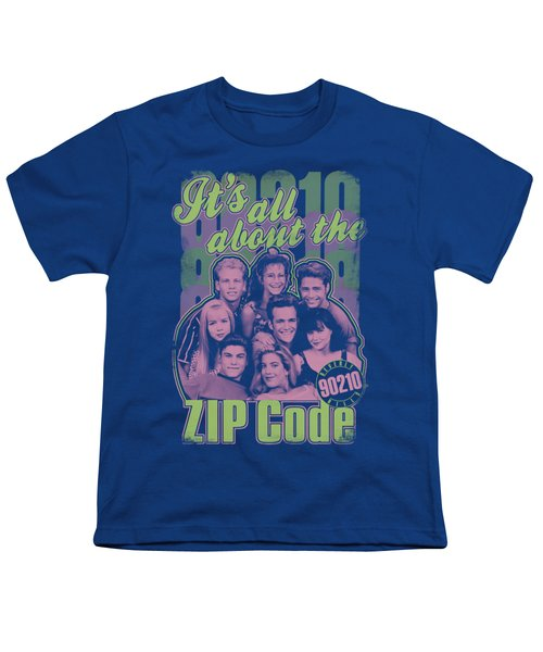 90210 - Zip Code Youth T-Shirt by Brand A