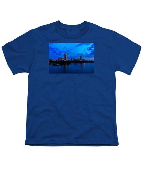 Boston Evening Youth T-Shirt by Rick Berk