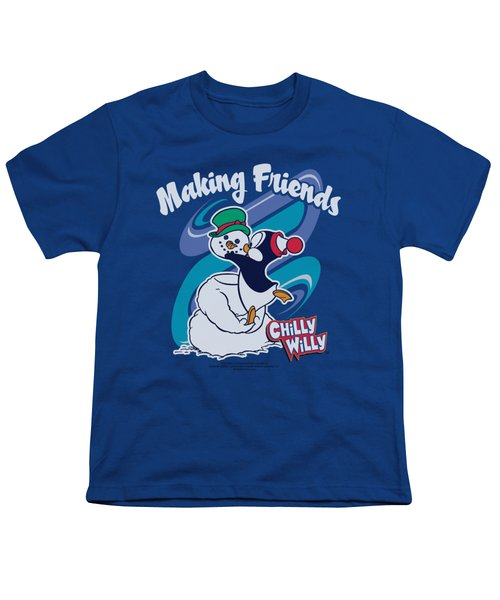 Chilly Willy - Making Friends Youth T-Shirt by Brand A
