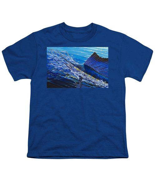 Sail On The Reef Off0082 Youth T-Shirt by Carey Chen