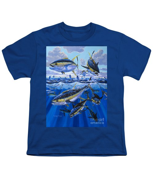Tuna Rampage Off0018 Youth T-Shirt by Carey Chen