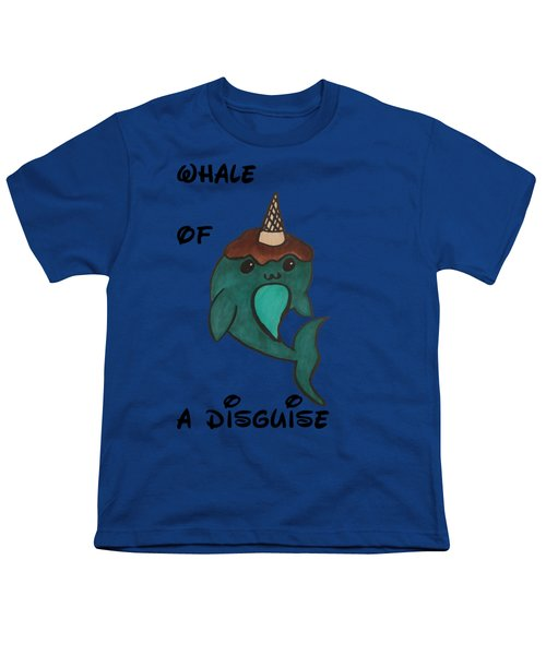 a Whale of a disguise Youth T-Shirt by Darci Smith