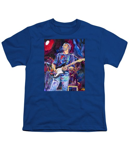 Eric Clapton And Blackie Youth T-Shirt by David Lloyd Glover