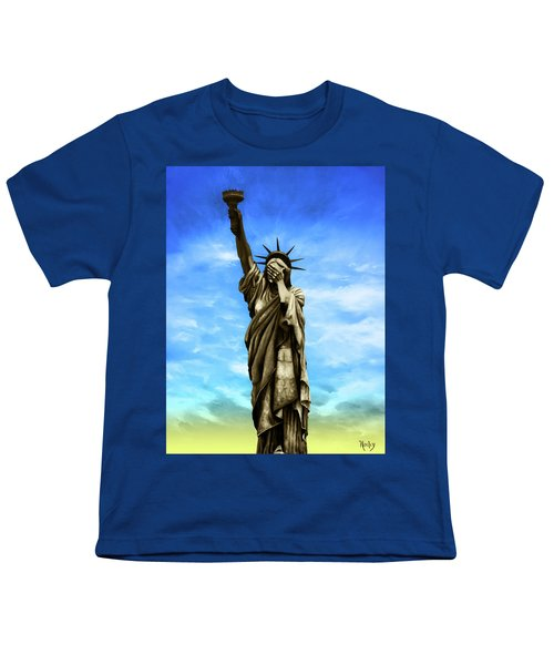 Liberty 2016 Youth T-Shirt by Kd Neeley