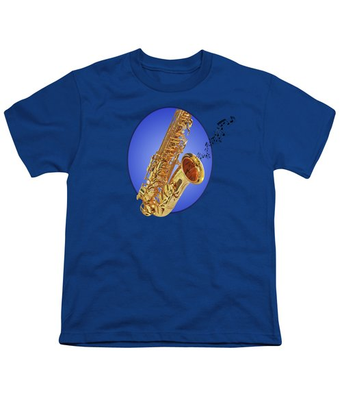 Midnight Blues Youth T-Shirt by Gill Billington