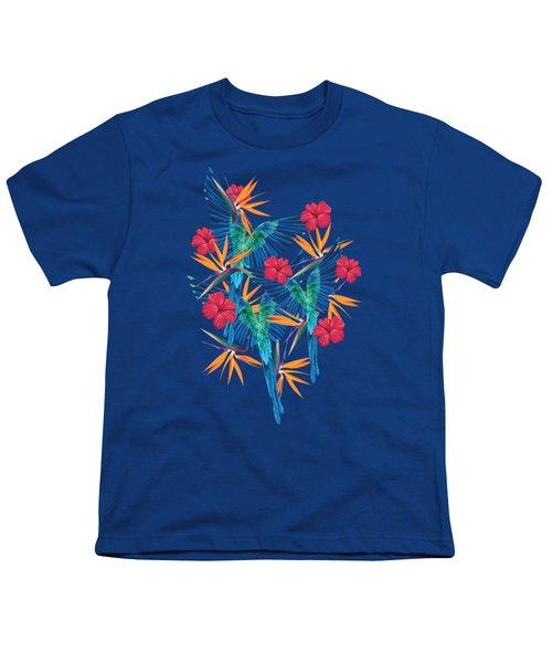 Parrots Youth T-Shirt by Marta Olga Klara